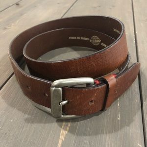 Fossil • Leather Belt  Brown Full Grain Cowhide